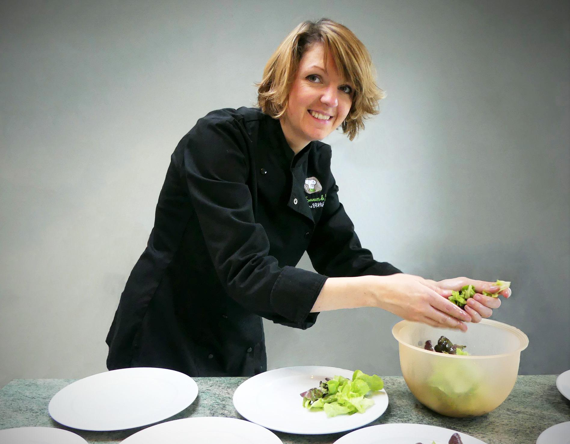 Tiphaine Brangeon, Chef à domicile pour un service de restauration à domicile de qualité