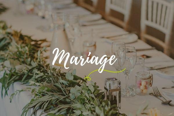 mariage home